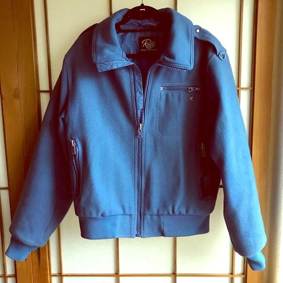 Raffe jackets coats vintage wool ski jacket poshmark jpg 580x580 Wool ski  jacket e6d407e93